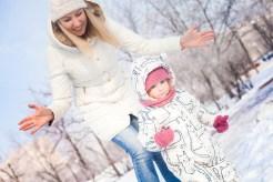 Съемка мамы Оксаны и дочери Кати