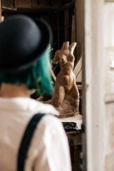 Индивидуальноя фотосъемка в мастерской художника