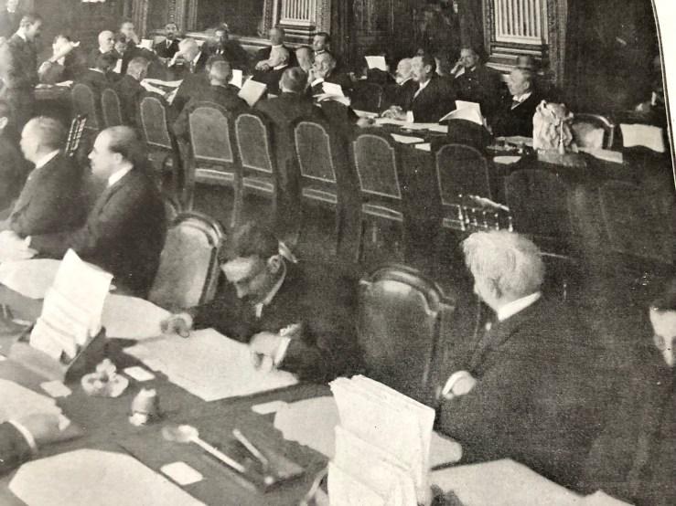 1919-01-25-Dr Martinez Ortiz en la apertura de la Conferencia de Paz