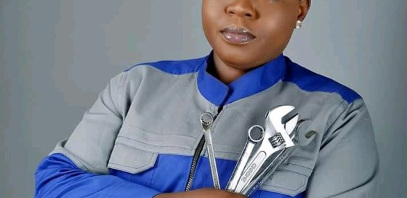Auto repair business: I don't see it as a dirty job… Says Joyce Daser Adams (Lady Mechanic)