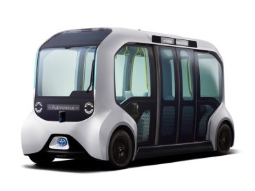 Toyota unveils Self-Driving Shuttle for 2020 Olympic Games