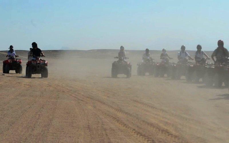 Quadibikes Desert safari Hurghada ok