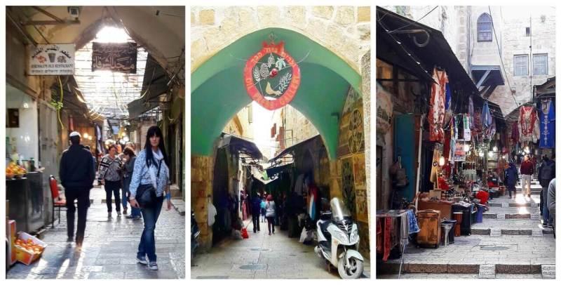 Old market, Jerusalem