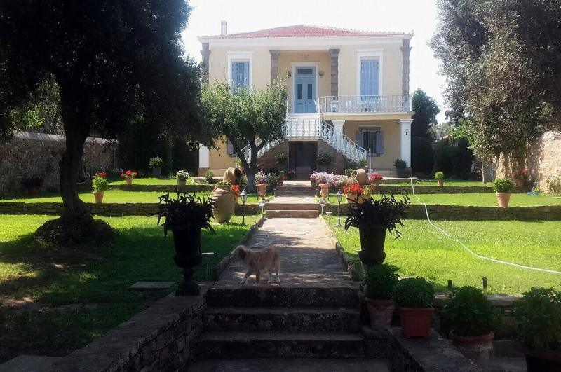 The house of Winston Churchill's house, Portiano village, Lemnos