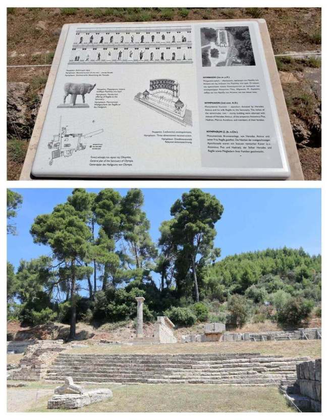 The Nymphaion, ancient Olympia