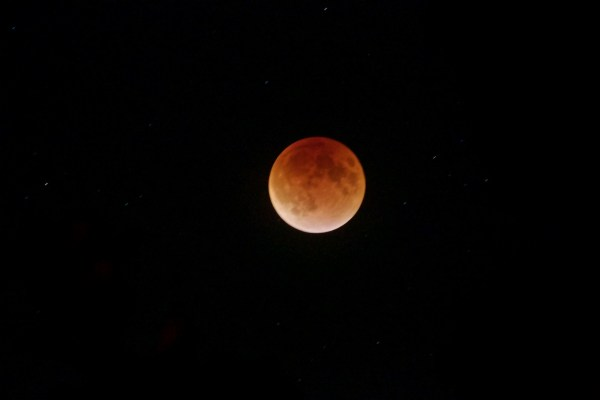 Lunar eclipse/Super Moon 2015