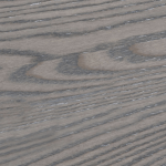Wood Finish - Grigio Brushed - Dark brown color
