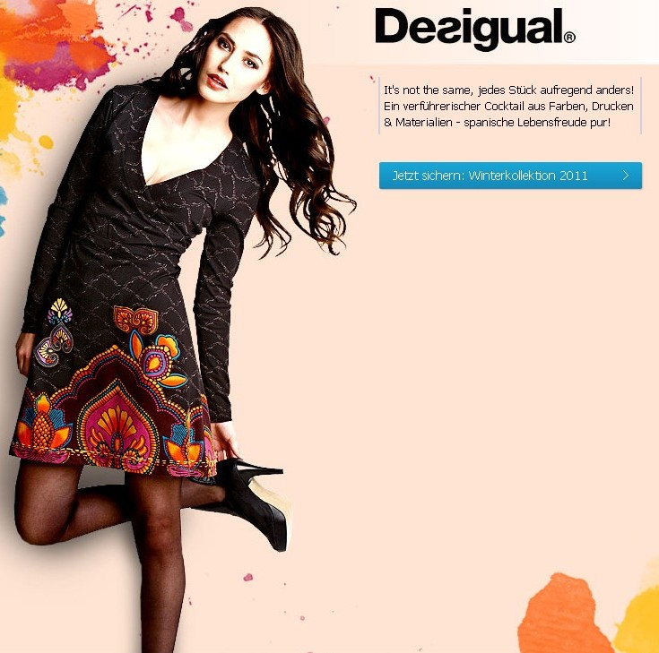 DESIGUAL - Gorgeous Fall/Winter collection 2011/2012 - à commander en ligne - online shopping (1/6)