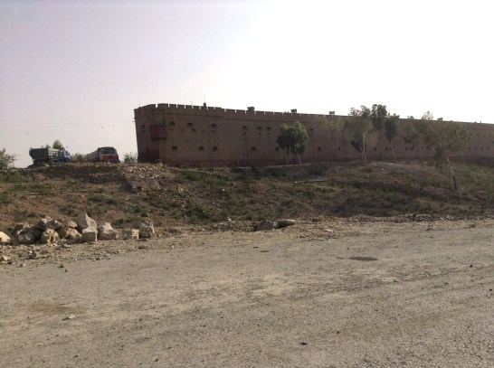 The Shagai Fort houses the FC for now.