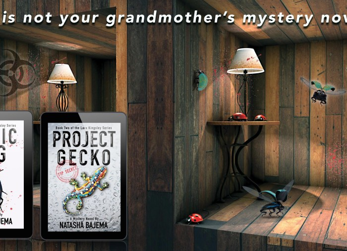 When Technothriller meets Cozy Mystery…