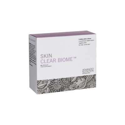 skin specific supplements in a box