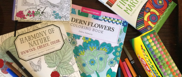 The Adult Coloring Craze