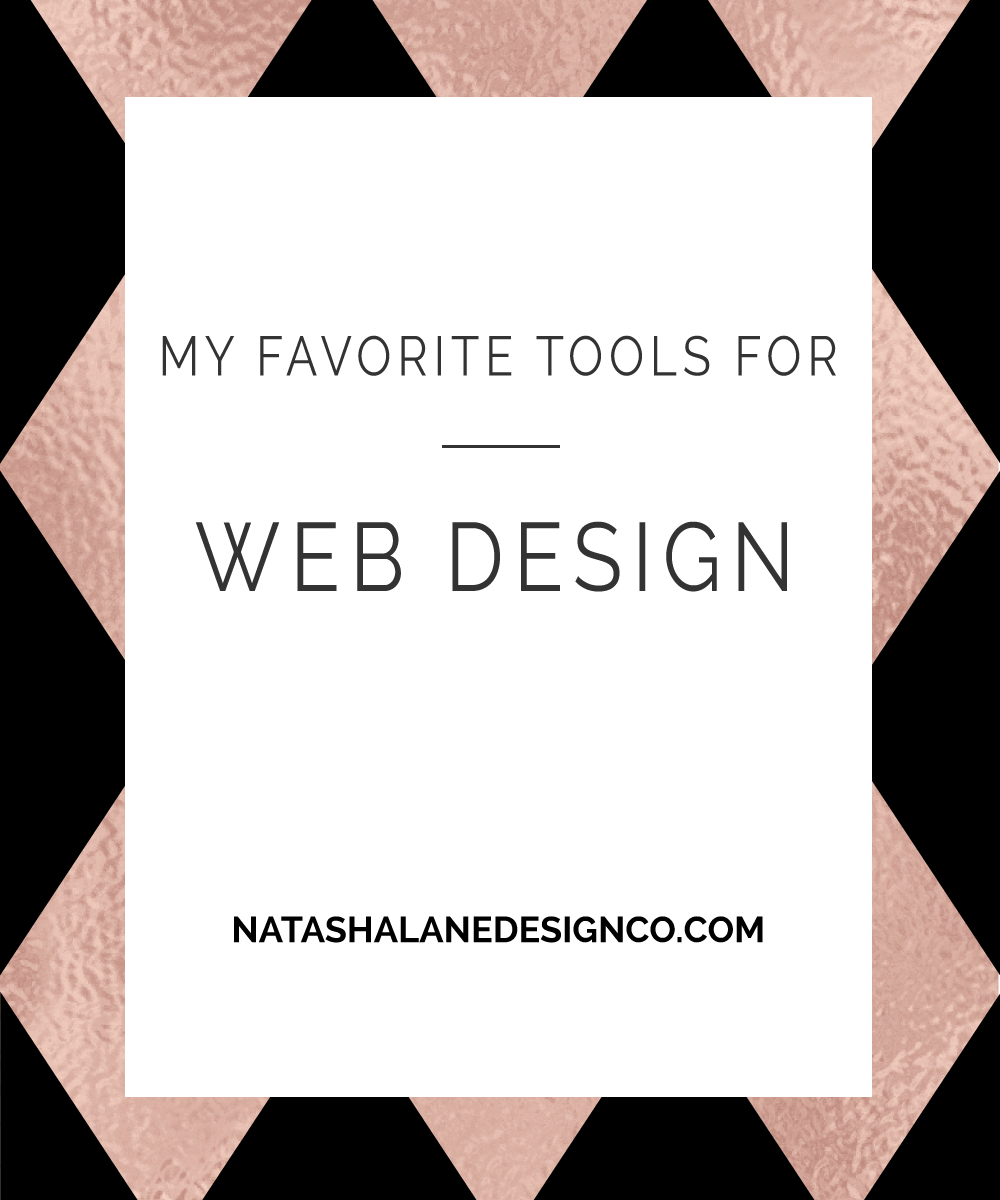 Blog title-My Favorite Tools for Web Design