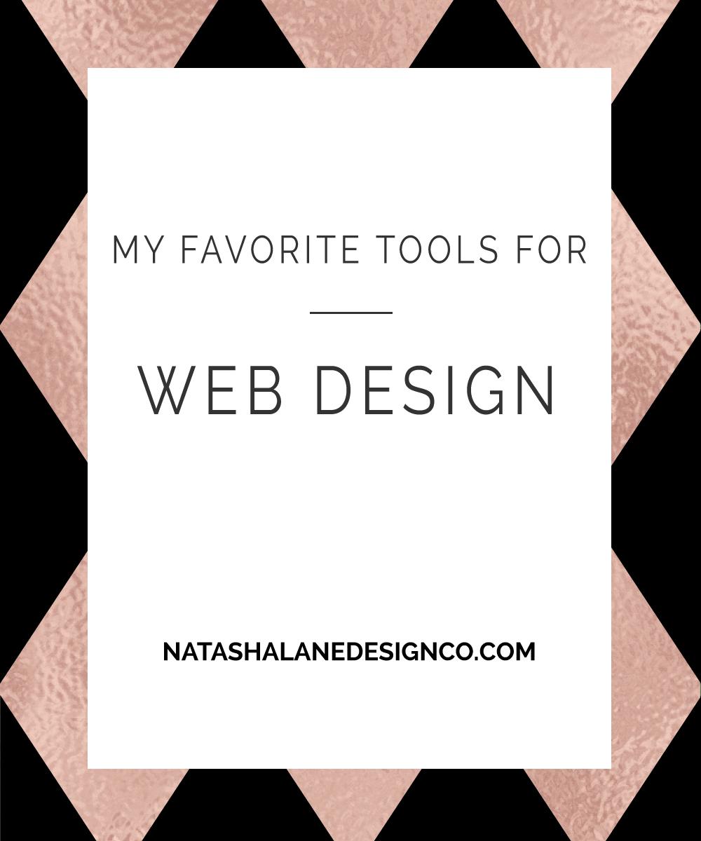 Blog title-My Favorite Tools for Web Design