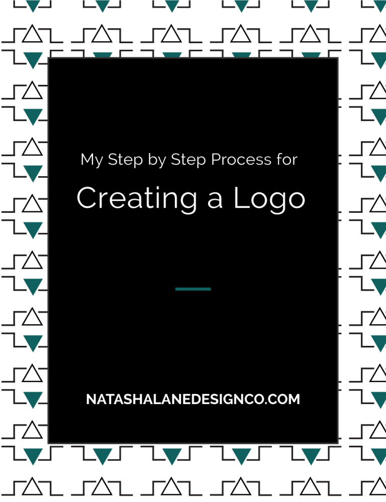 My Step by Step Process for Creating a Logo