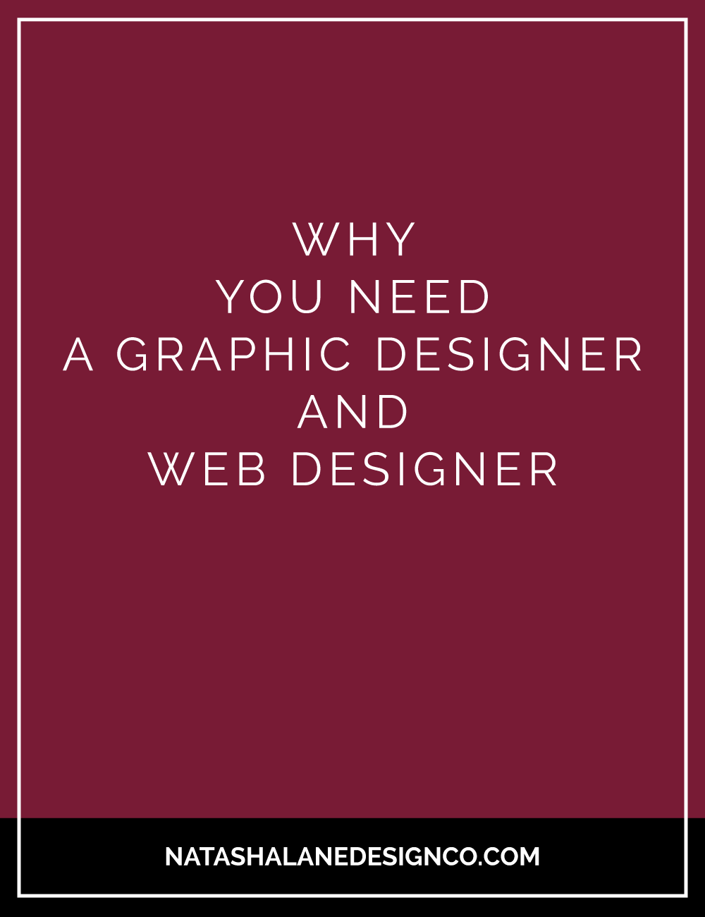 Blog Title- Why you need a graphic designer and web designer