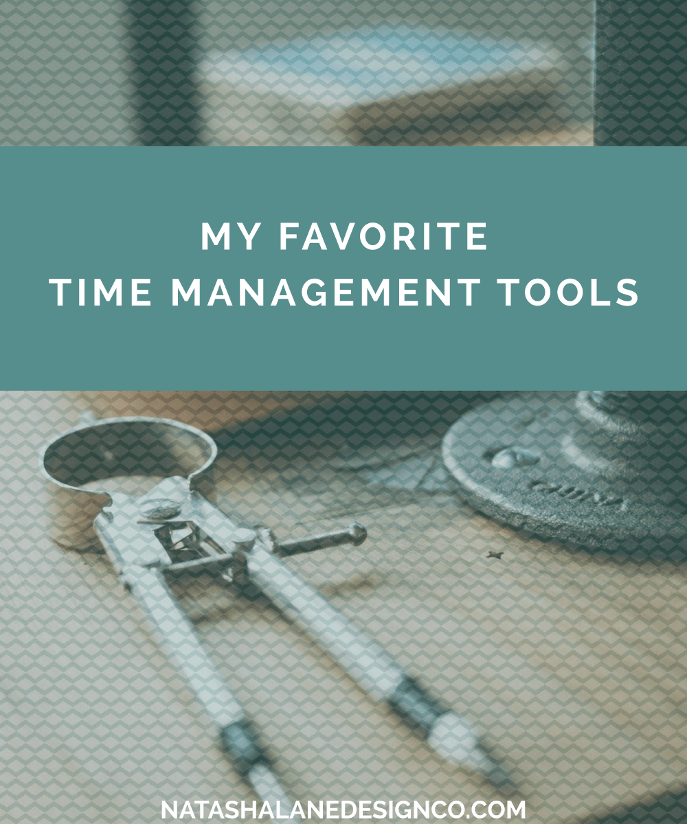 My Favorite Time Management Tools