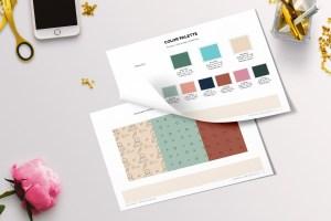 brand x web design brand style guide