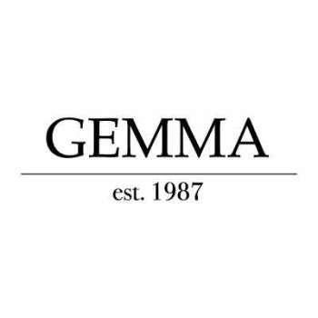 gemma logo x branding template