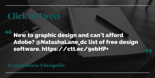 Click to tweet-Free graphic design software