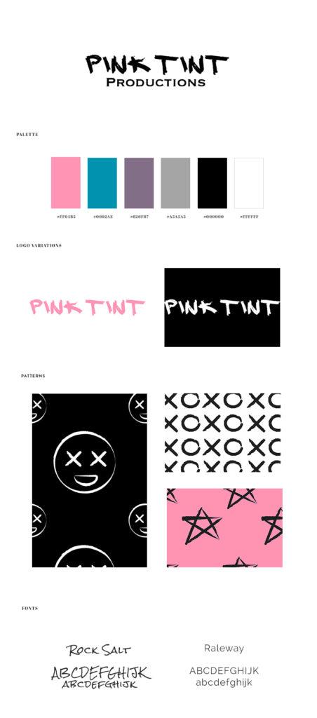 pinktint-brandboard