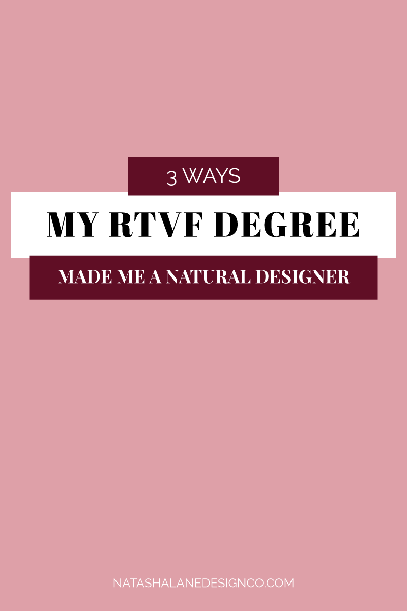 3 ways my RTVF degree made me a natural designer