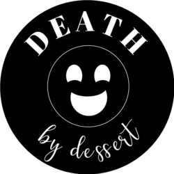Death by dessert submark-black
