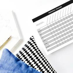 planner personal tracker