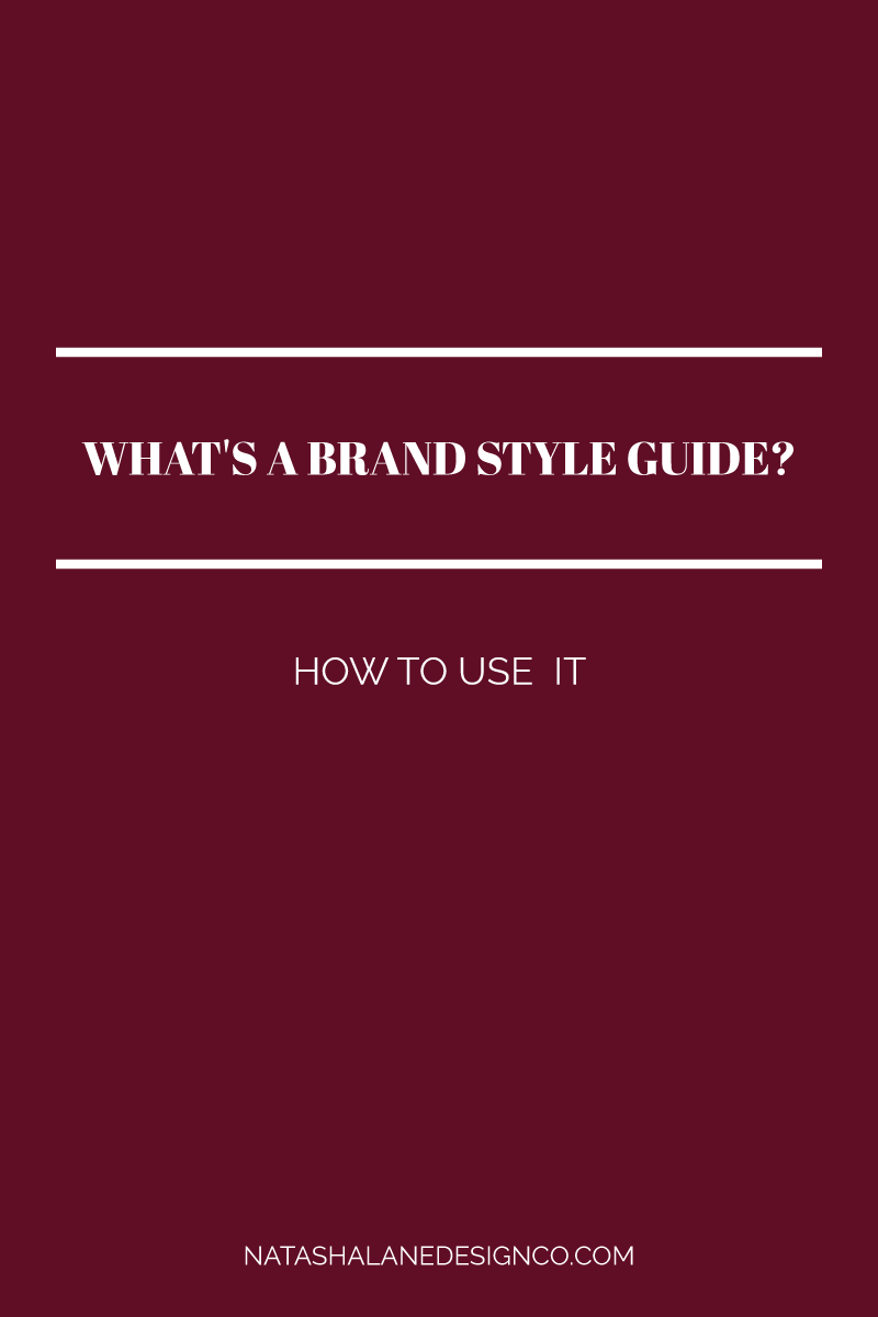 What's a Brand Style Guide