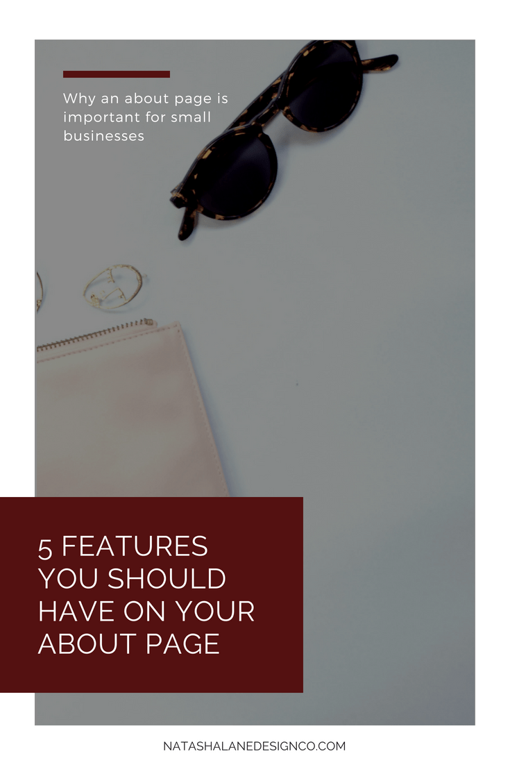 5 features you should have on your about page
