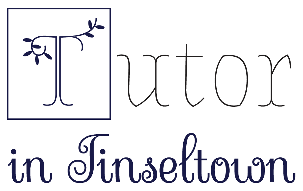 Brand x Web Design for Tutor in Tinseltown main logo