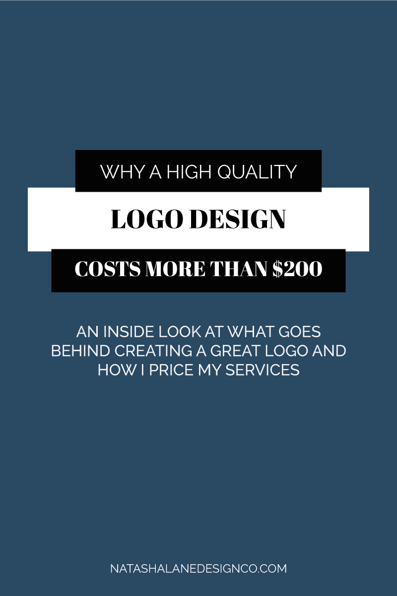 Why A High Quality Logo Design Costs More