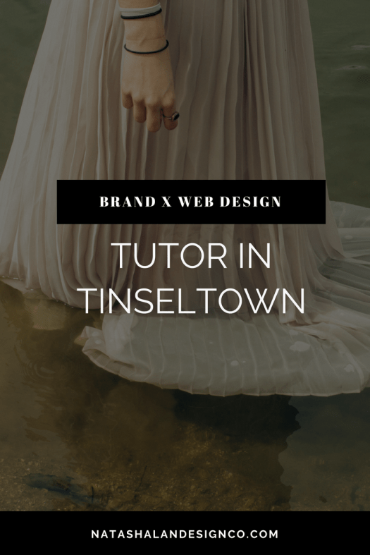 Brand x Web Design for Tutor in Tinseltown