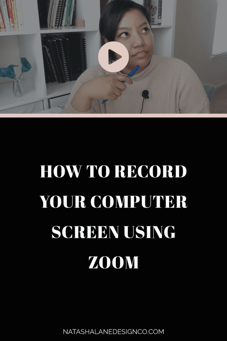 How to record your computer screen using Zoom