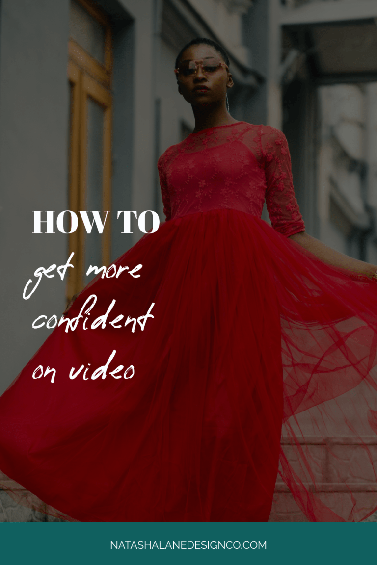 HOW TO GET MORE CONFIDENT ON VIDEO