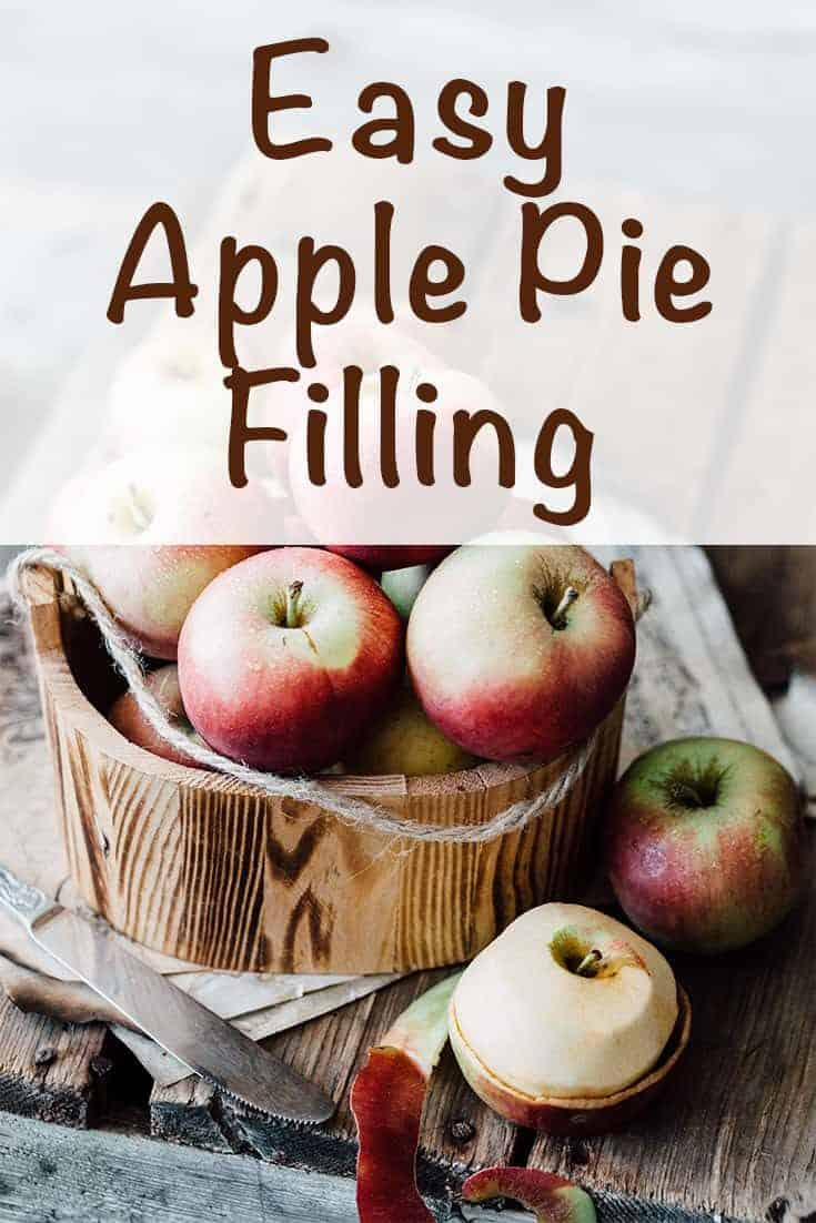 Apple Pie Filling for Crepes
