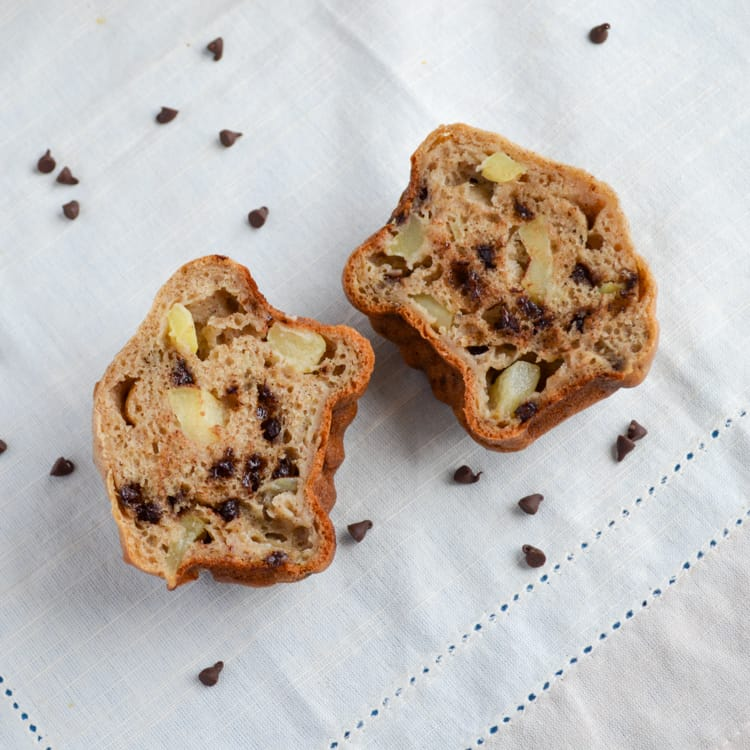 Chocolate Chip Apple Muffins