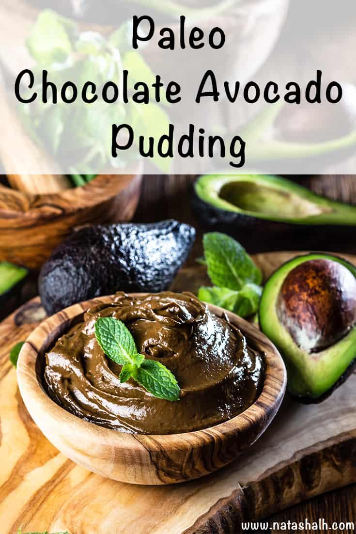 Paleo Avocado Chocolate Pudding Recipe