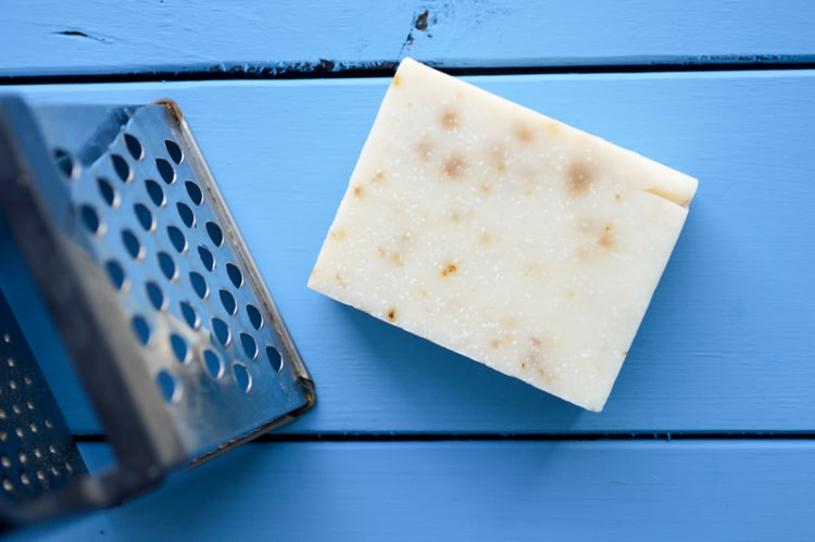 soap and grater