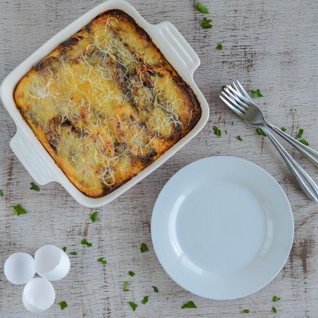 Sweet Plantain Lasagna - Pastelon