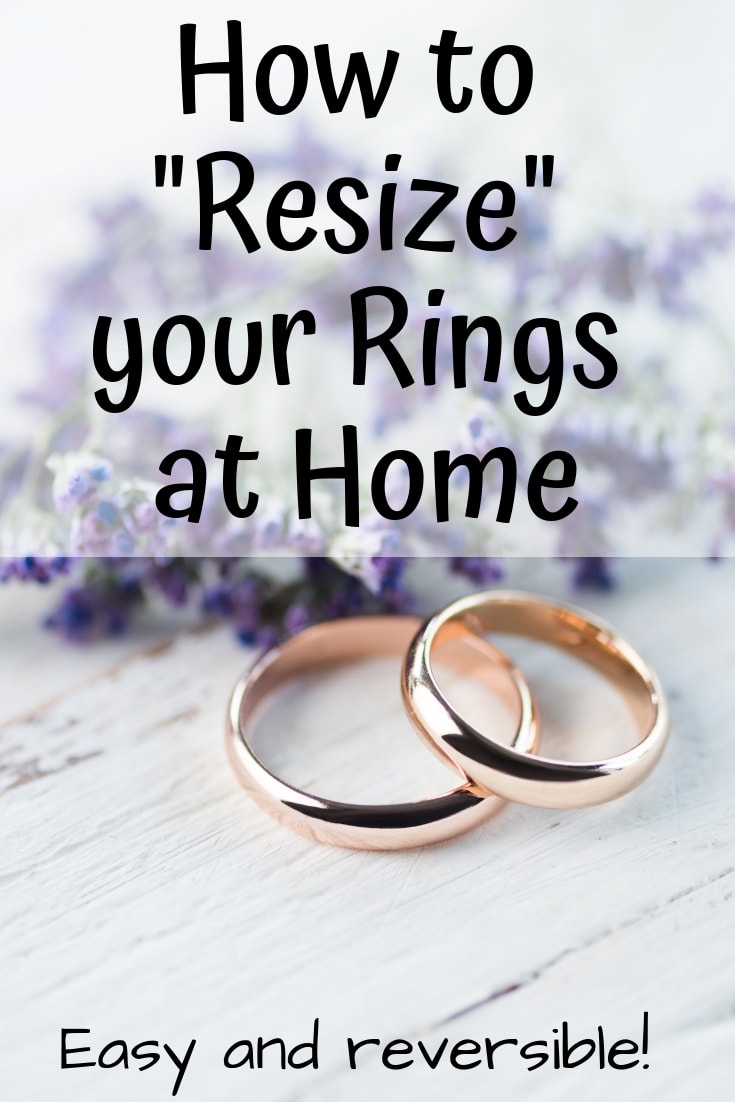 How To Resize Your Ring At Home Comfortable Pretty Way To Make Your Loose Ring Fit The Artisan Life