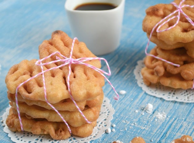 egg and dairy free funnel cake recipe