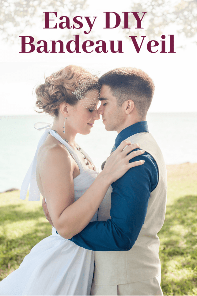 Easy DIY Bandeau Wedding Veil