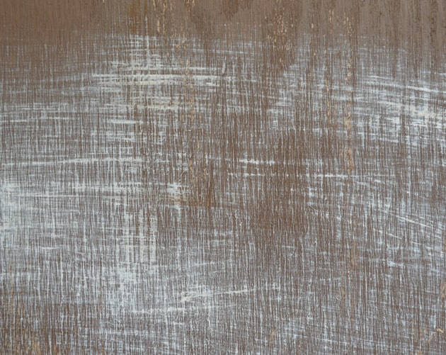 painted across the grain