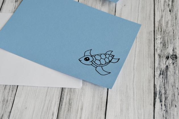 cute sea turtle notebook cover