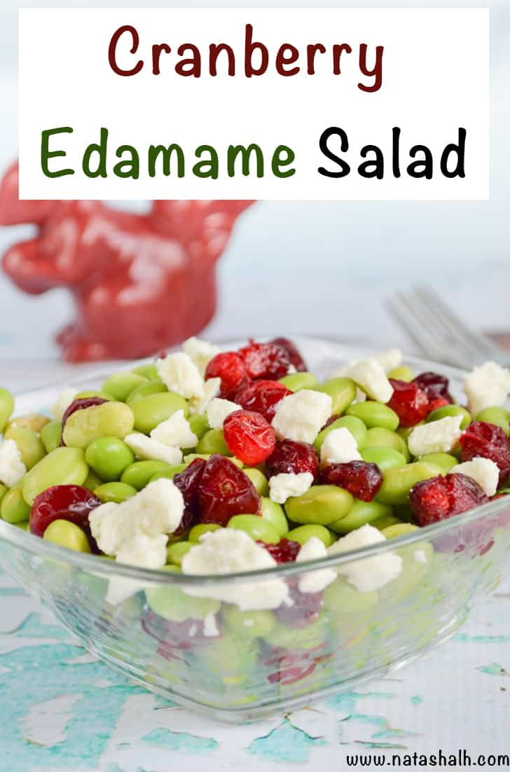 cranberry edamame salad