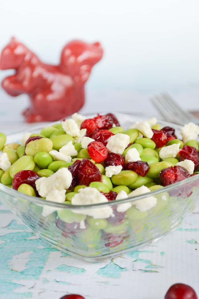 cranberry soybean salad
