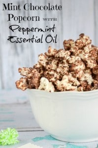 DoTerra Mint Essential Oil Chocolate Popcorn