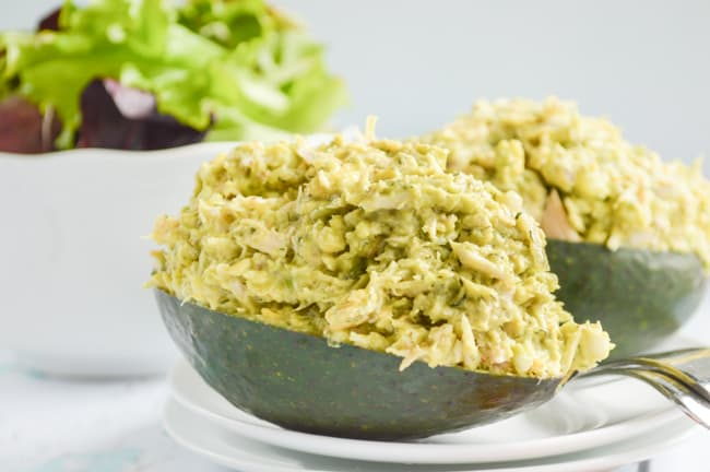 Paleo Avocado Tuna Salad with Bumble Bee New Year New You