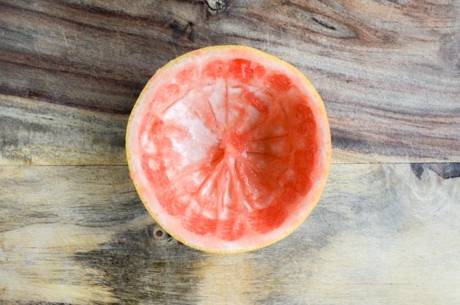grapefruit shell